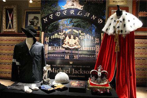 Reliques de Michael Jackson à Neverland