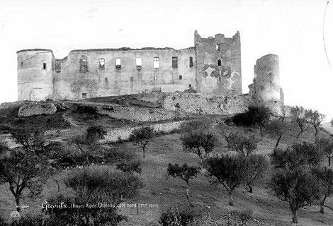 Château de Gréoux-les-Bains en 1887