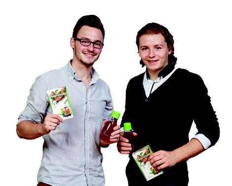 Chris und Florian die Gründer von Neuronade