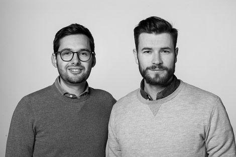 Geschäftsführer Fabian Festner & Maximilian Kiechle