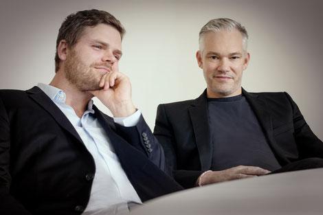 Gründer und Geschäftsführer Benjamin Gutschik und Thomas Reppa (© Anna McMaster)