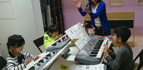 プレ・ピアノ どれみ音楽教室  田中由美子