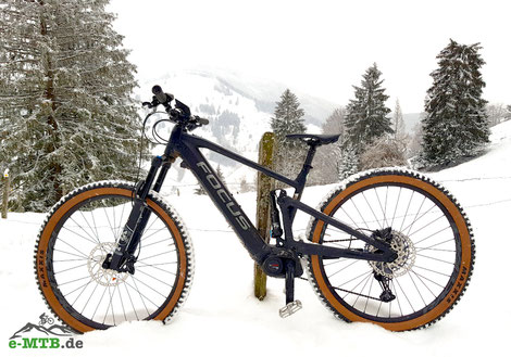 Das Focus Jam² 6.8 Nine im Schnee