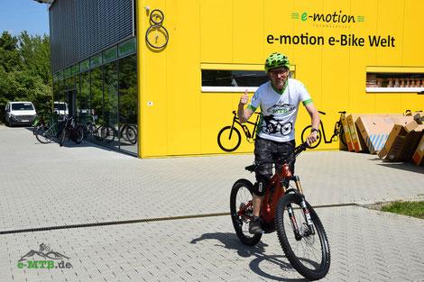 Testfahrer und Belchenradler Christof
