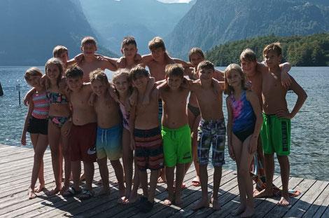 RSCI-Schülerringer am Hallstätter See