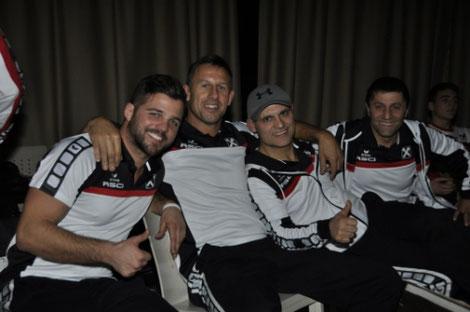 Unser Erfolgstrainerteam Mo, Guggi, Arsen und Phridon