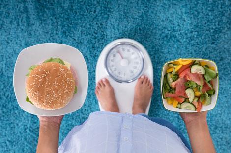 Abnehmen mit Hypnose Gewichtsreduktion