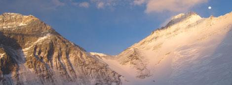 Everest und Lhotse © G. Kaltenbrunner