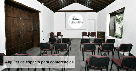 Alquiler de espacio para conferencias en Tenerife norte - Capilla, Finca Sulula