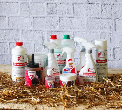 Insektenspray - Pferdepflege - öl Shampoo