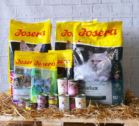 Josera Futter Nassfutter - nur das Beste für Katzen - adult, culinesse, Dosenfutter