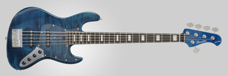 2013 WOODLINE DX5 AC-LTD See Through Blue