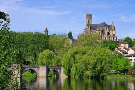Limoges hoofdstad Haute Vienne