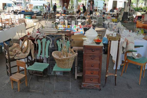 French flea markets brocante