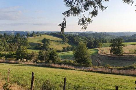 Nature park Millevache en Limousin
