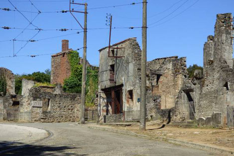 Oradour-sur-Glane war museum Limoges