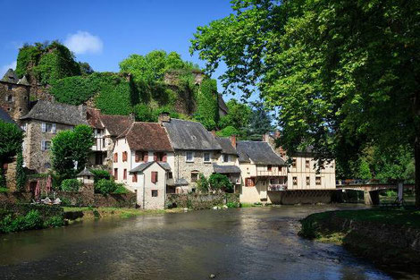 Segur le Chateau most beautiful villages in France