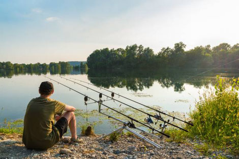 Fishing in the Limousin