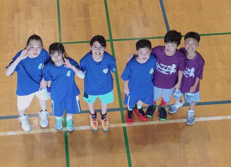 新宿MBC_2019かずさミニバスケットボール教室
