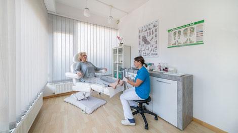 Fußpflege, Seefeld in Tirol, podologie, medizinische Fußpflege, diabetische Fußpflege, Janina Vesenmayer