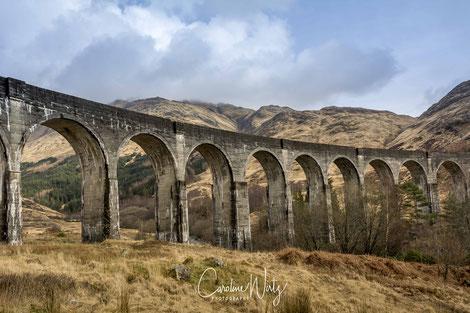 Glenfinnan Viaduct Fort William Schotland