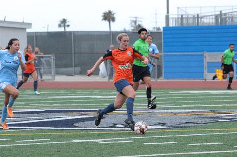 5月20日: San Diego SeaLions戦 - 得点者 #6 Mary Reilly