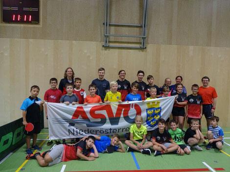 23 Kinder verbrachten sportliche Tage bei den ASVÖ Sommersporttagen in Sierndorf.
