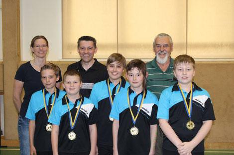 Die stolzen Sierndorfer gewannen Gold!