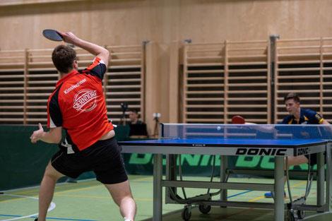 Martin Kinslechner sorgte mit drei Siegen für 50 % des Sieges. Foto: Markus Litzlbauer.