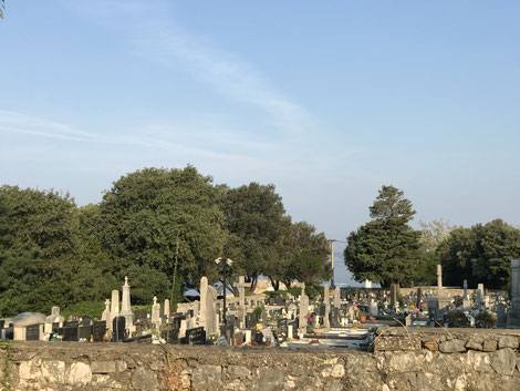 Friedhof in Novi Vinodolski