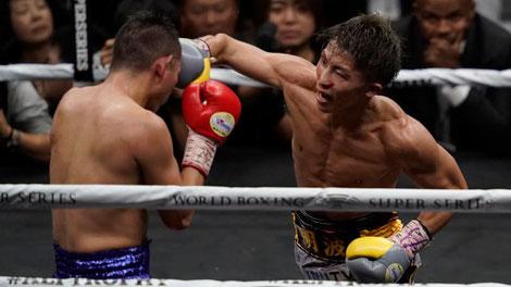 ボクシングの複数階級制覇