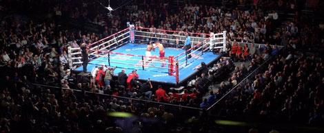 ボクシングリングの大きさ