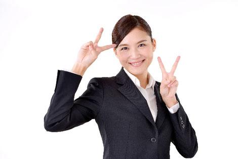 転職に成功した女性の画像