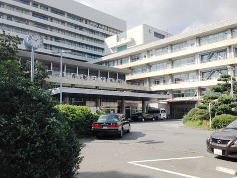 総合病院の画像