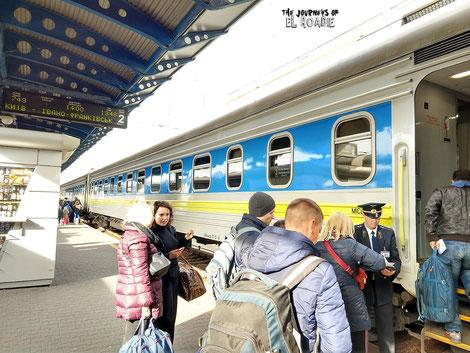 Intercity Kiew - Lemberg