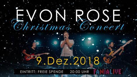 Die Rock/Popband Evon Rose. (c) Evon Rose