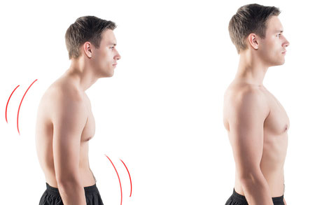 Steifheit im Hals durch angespannten Bauchraum