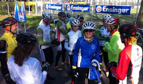 Start zur Weinlandtour bei der SportKultur in  Stgt-Wangen Bild: Ulf