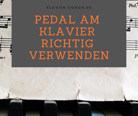 Pedale am Klavier | Klavier Ratgeber | Klavier lernen | Klavier-Coach |