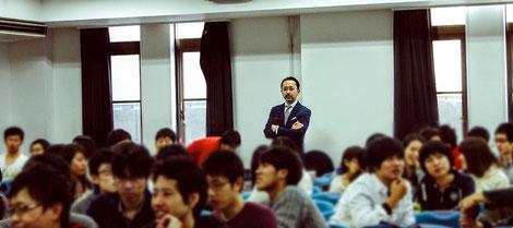 森田医師の京都大学講義風景