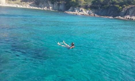 Mistral plaisance location baignade au Cap Bénat
