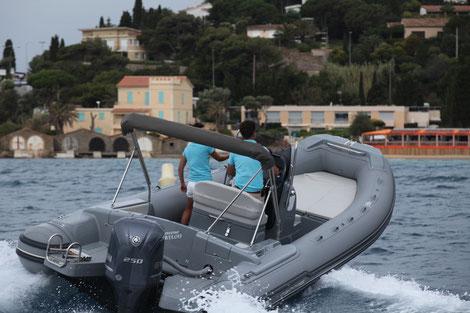 Louer un semi rigide mar-co 23 avec un 250 cv Yamaha chez Mistral plaisance Location au départ du Lavandou