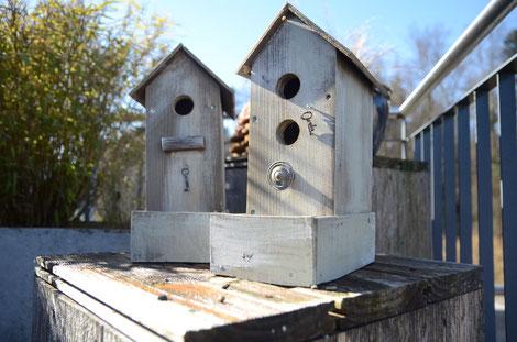 Vogelhäuschen mit Schlüssel