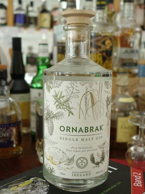 Ornabrak Single Malt Gin im Weinwerk Gießen