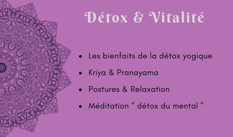 Atelier yoga Ly reiki yoga détox et vitalité