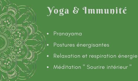 Atelier yoga Ly reiki yoga  immunité et yoga système immunitaire