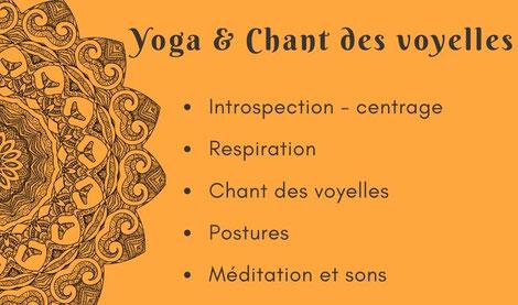 Atelier yoga Ly reiki yoga Chant des voyelles et yoga