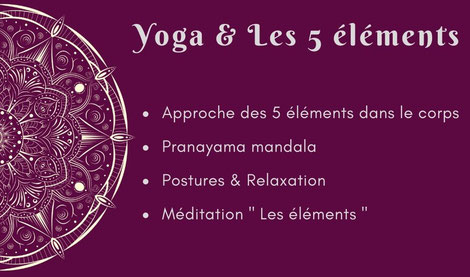 Atelier yoga Ly reiki yoga les 5 éléments