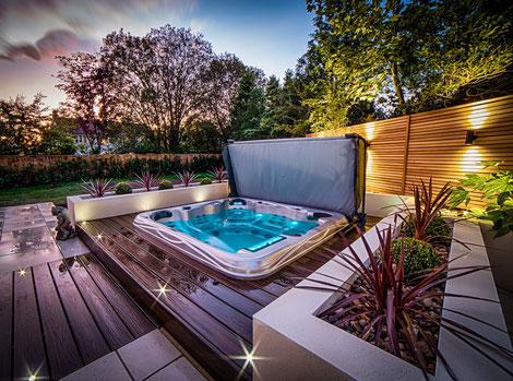 Whirlpool outdoor installiert