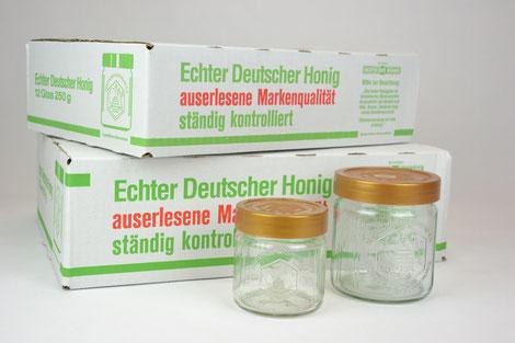 Honiggläser Deutscher Imkerbund DIB Honigglas